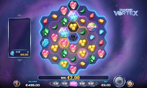 diamond vortex slot overview and summary