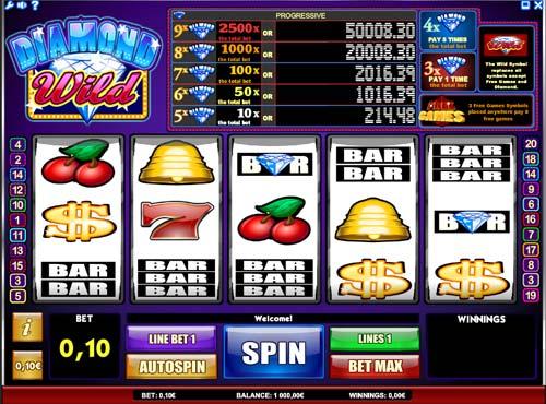 Diamond Wild slot free play demo