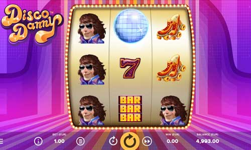 Disco Danny Videoslot Screenshot