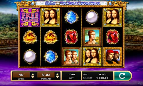 Double Da Vinci Diamonds slot