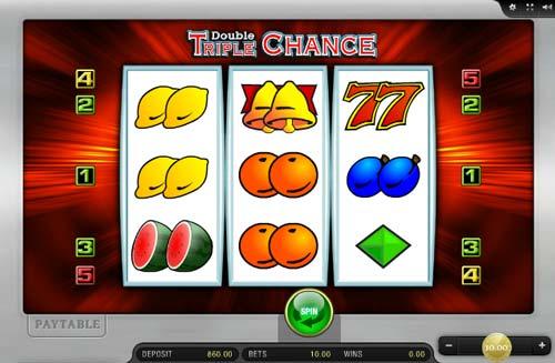 Double Triple Chance slot free play demo