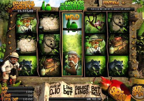 Dr Magoos Adventure slot