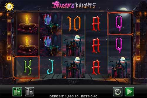 Dragon and Knights Videoslot Screenshot