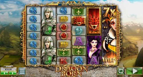 Dragon Born Videoslot Screenshot