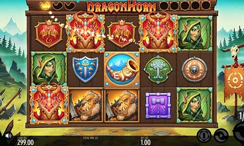 Dragon Horn Videoslot Screenshot