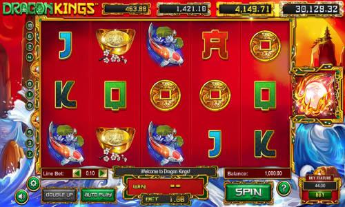 Dragon Kings Videoslot Screenshot