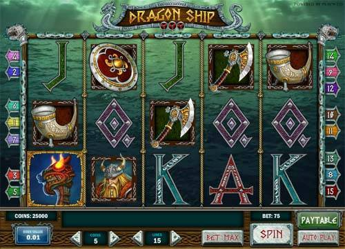 Dragon Ship slot free play demo