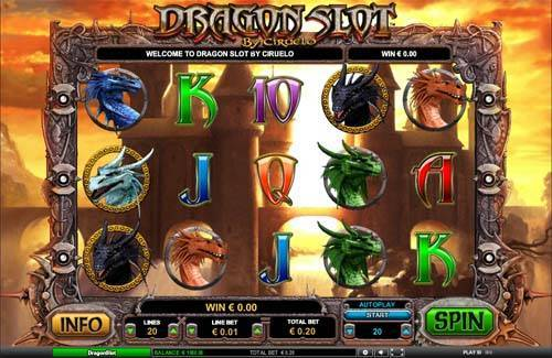 dragon casino games