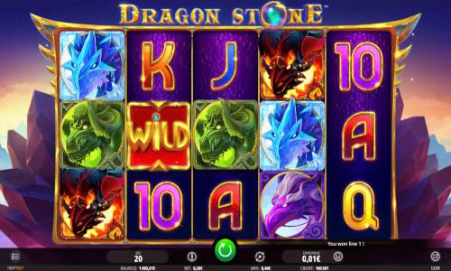 Dragon Stone Videoslot Screenshot