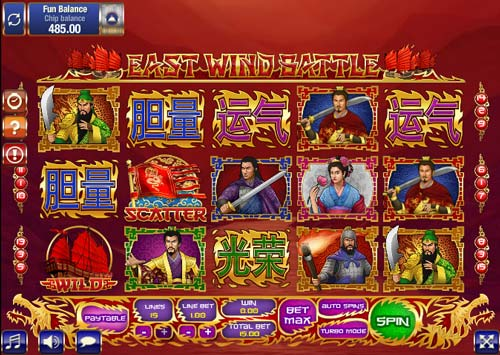 East Wind Battle slot