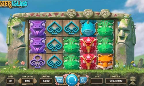 Easter Island Videoslot Screenshot