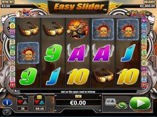 Easy Slider Videoslot Screenshot