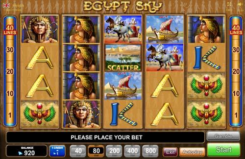 Egypt Sky slot free play demo
