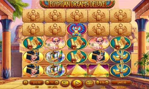 Egyptian Dreams Deluxe slot