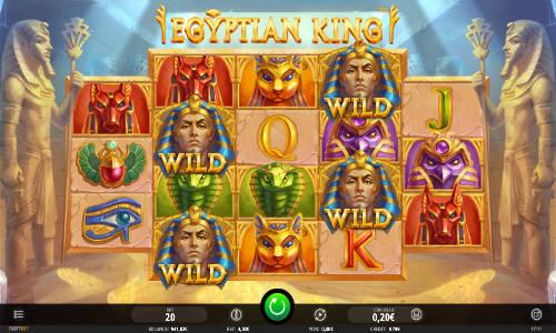 Egyptian King Videoslot Screenshot