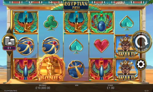 Egyptian Pays Videoslot Screenshot