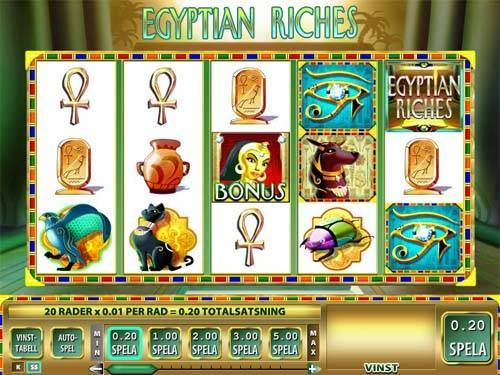 Egyptian Riches slot