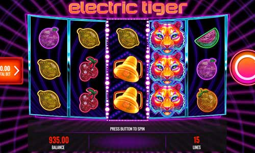 Electric Tiger slot