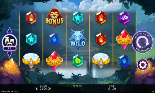 Elemental Beasts slot