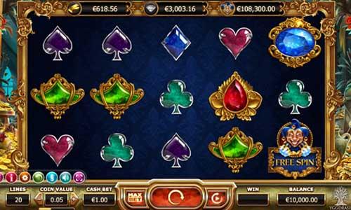 Empire Fortune Videoslot Screenshot