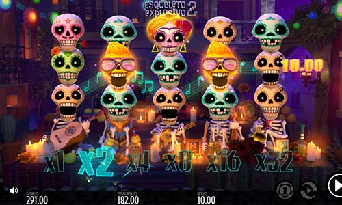 esqueleto explosivo 2 slot overview and summary
