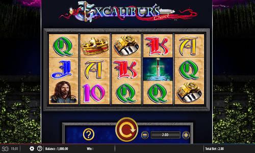 Excaliburs Choice Videoslot Screenshot
