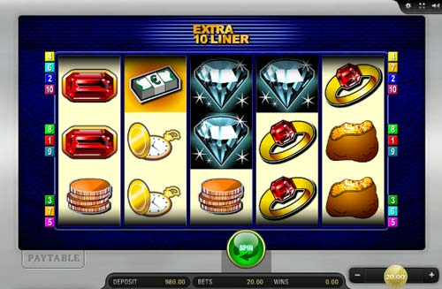 Extra 10 Liner slot free play demo