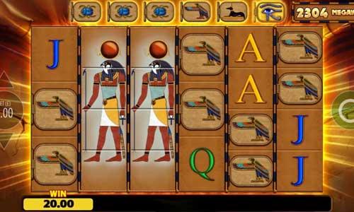 eye of horus megaways slot review