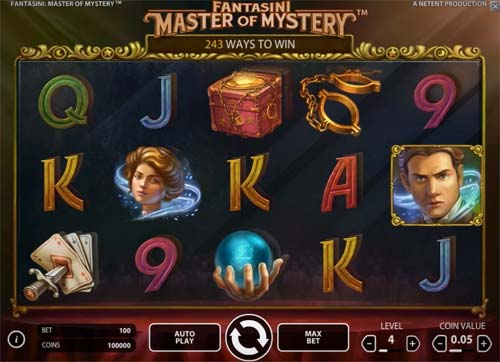 Fantasini Master of Mystery slot