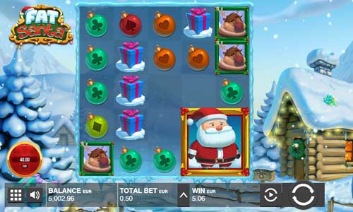 Fat Santa Videoslot Screenshot