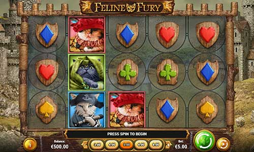 feline fury slot overview and summary
