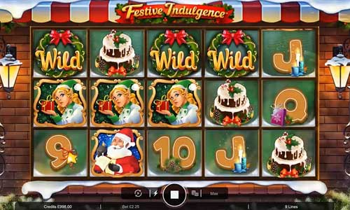 festive indulgence slot review