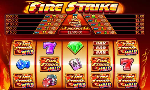 Fire Strike slot