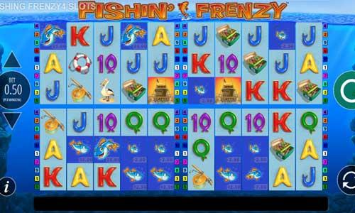 Fishin Frenzy Power 4 Slots slot