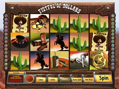 Fistful of Dollars slot free play demo