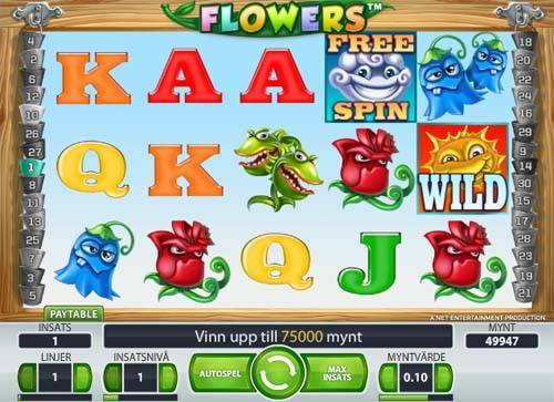 Flowers slot free play demo