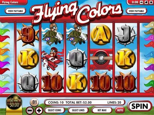 Flying Colors slot free play demo