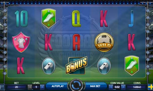 free slots online for fun champions cup football