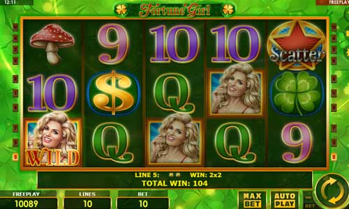 Fortune Girl slot free play demo