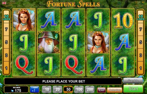 Fortune Spells slot free play demo