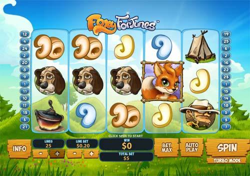 Foxy Fortunes slot
