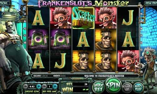 Frankenslots Monster Videoslot Screenshot