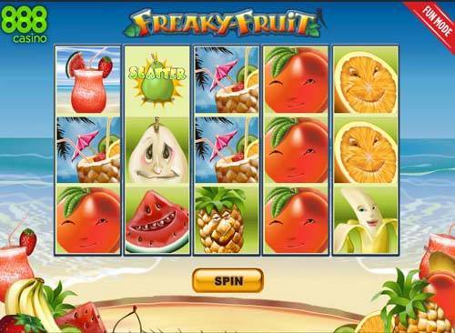 Freaky Fruit slot free play demo