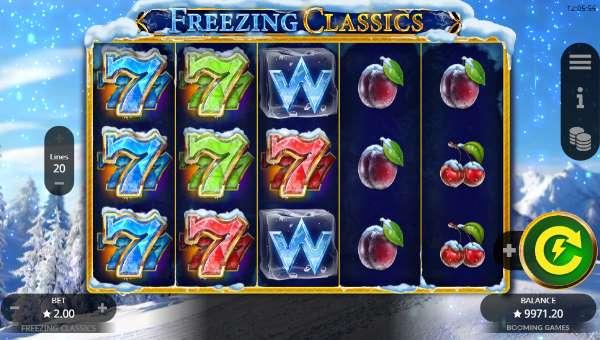 Freezing Classics Videoslot Screenshot