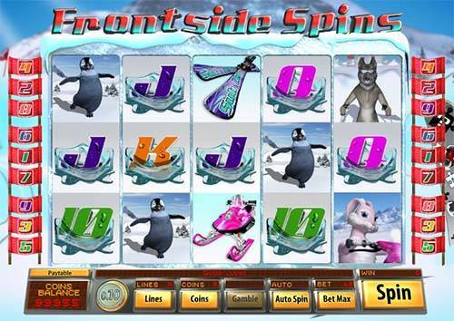 Frontside Spins slot free play demo