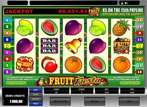 casino games fruit free