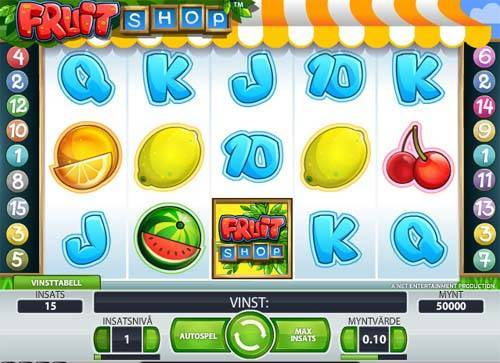 Fruit Shop slot free play demo