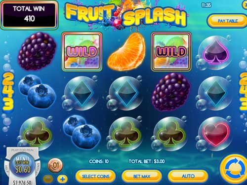 Fruit Splash slot