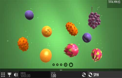Fruit Warp Videoslot Screenshot