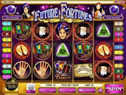 Future Fortunes slot free play demo